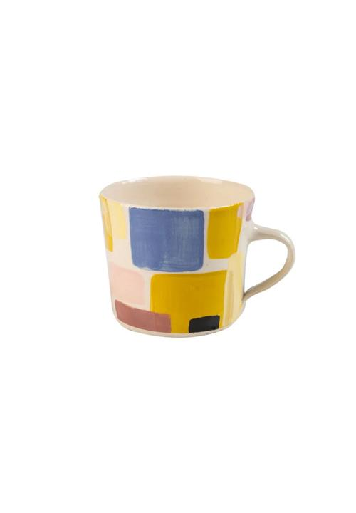 Abstract Sunbaked Mug